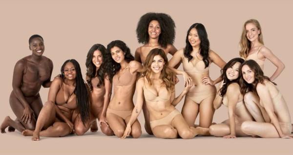 Coleção nude for all da marca Naja