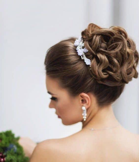 Coque para noiva 5