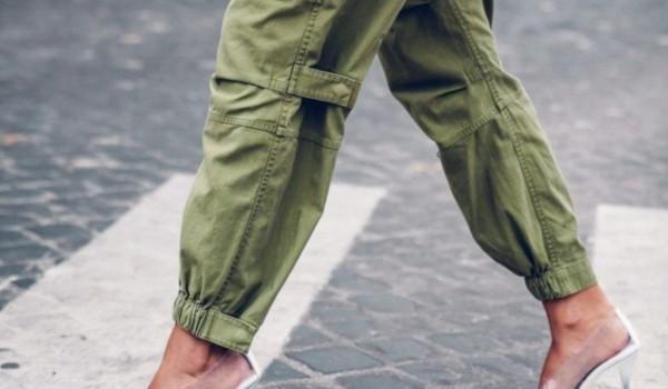 Estilo da calça cargo militar