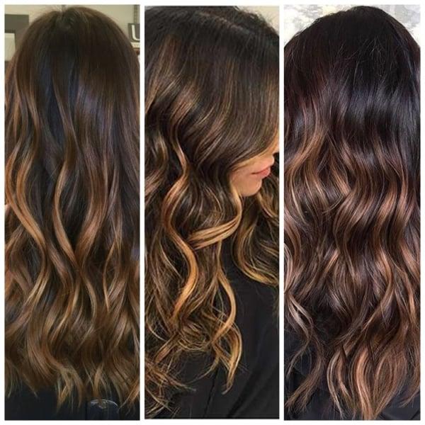 Ideias para cabelo chocolate com luzes26