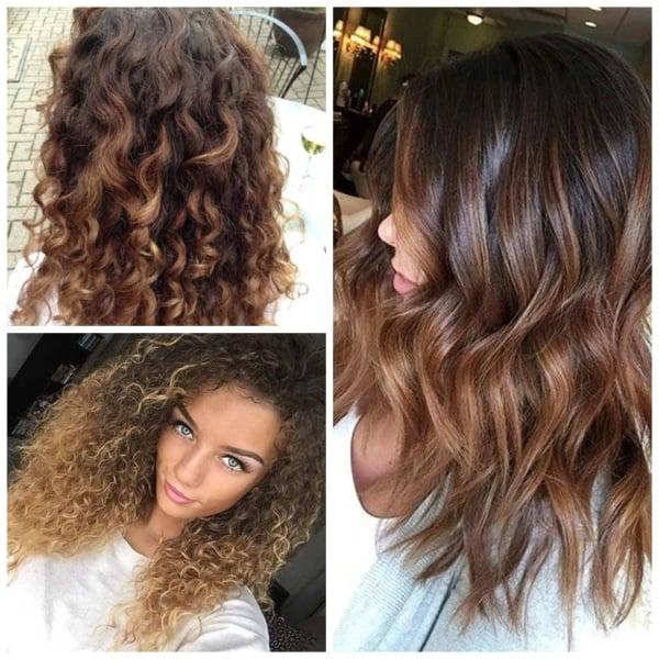 Ideias para cabelo chocolate com luzes27