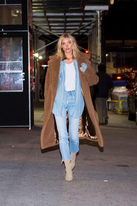 Look casaco oversized bege 59