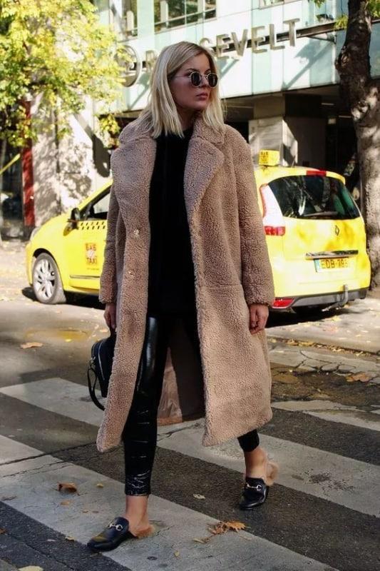 Look casaco oversized bege 62
