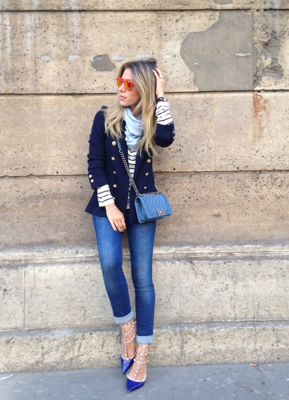 Look com Bolsa jeans