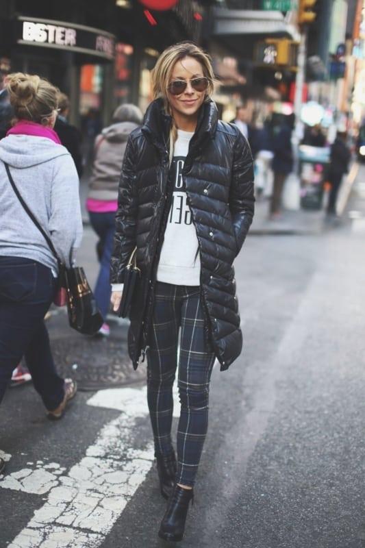 jaqueta preta feminina