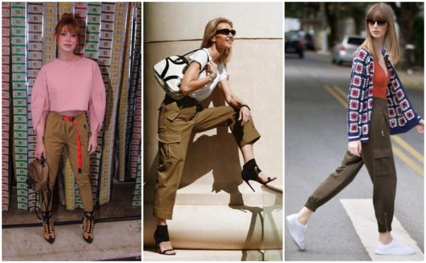 Looks com calça cargo feminina 1