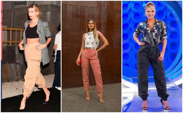 Looks com calça cargo feminina 2
