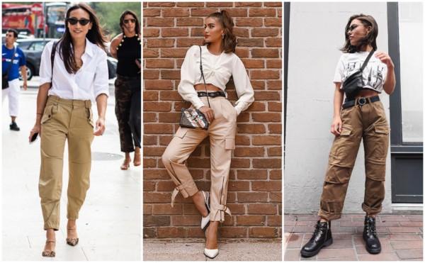 Looks com calça cargo feminina 3