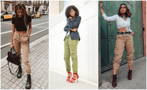 Looks com calça cargo feminina 4