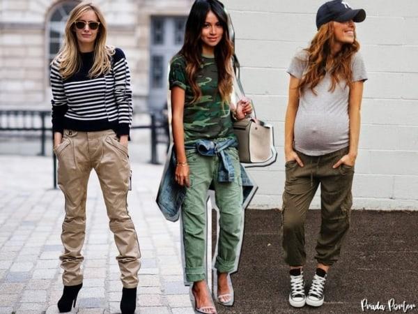 Looks para todos os estilos com calça cargo