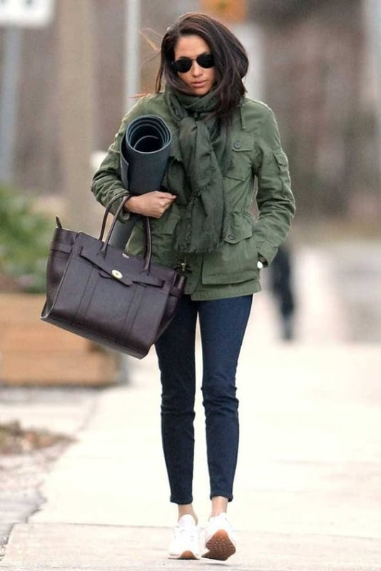 Meghan Markle adora modelos de bolsas tote