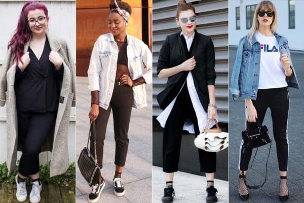 Meia arrastão curta é tendência de moda