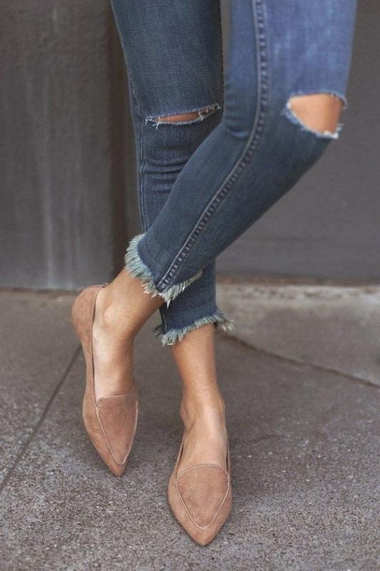 Outro modelo de sapato nude