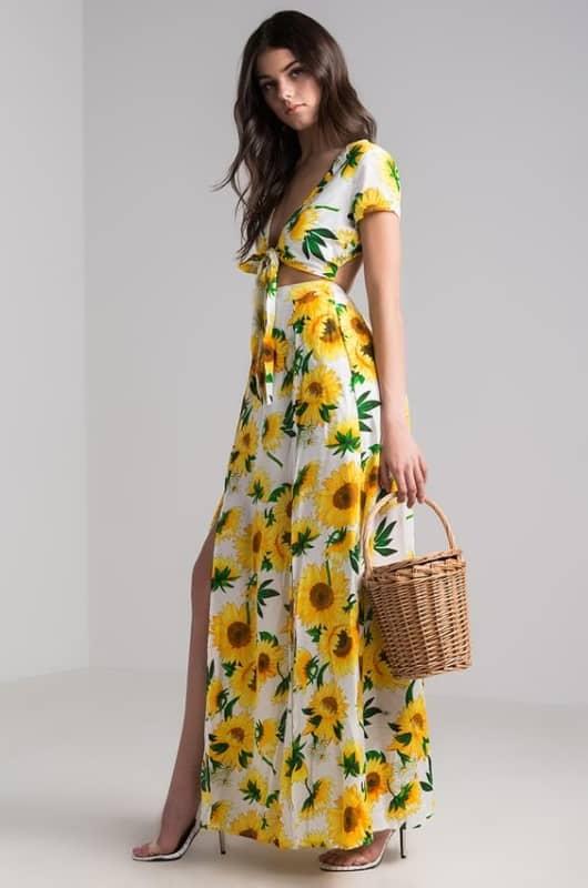 Vestido de girassol 2 1