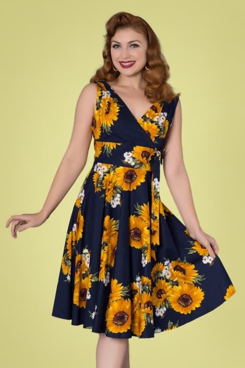 Vestido de girassol 3 2