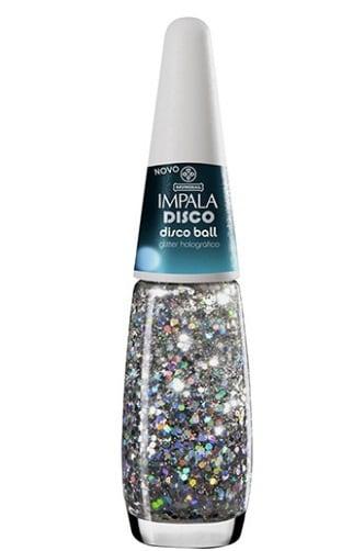 esmalte holográfico com glitter