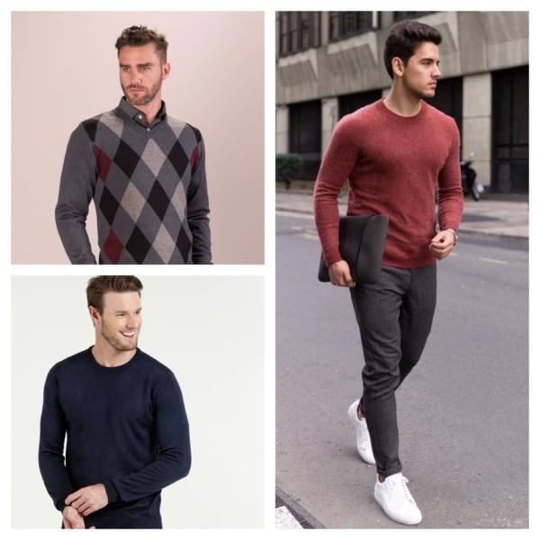 ideias de pulover masculino