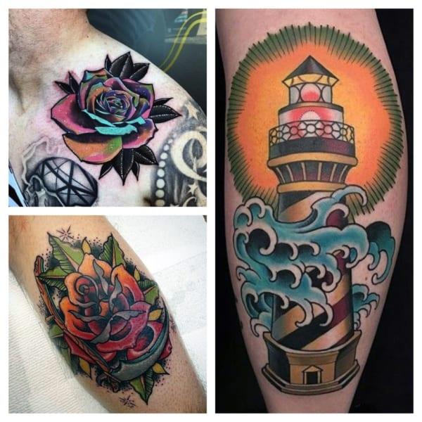 ideias de tatuagem colorida 1