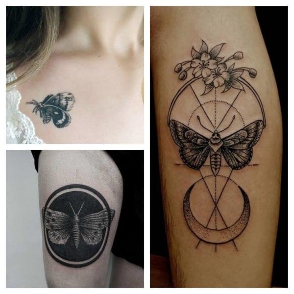 Tatuagem de MARIPOSA: +45 ideias e seu significado!【2021】