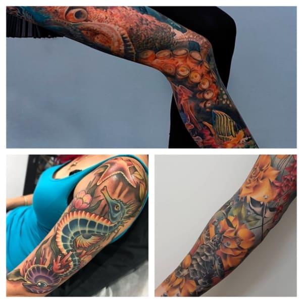 ideias de tatuagem fundo do mar