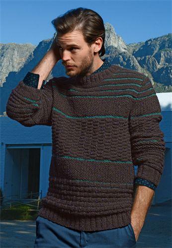 modelo de pulover com cores
