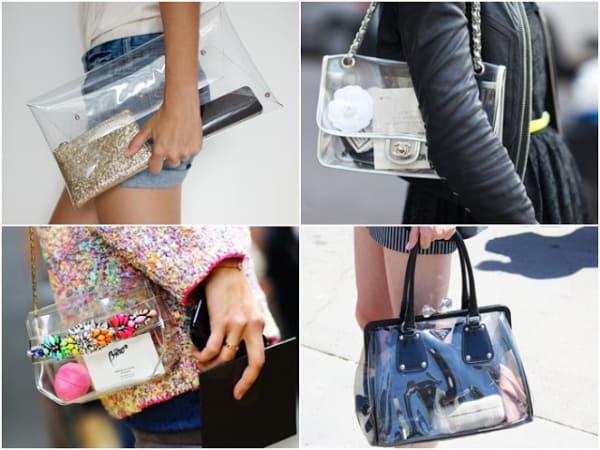 modelos de bolsas transparentes