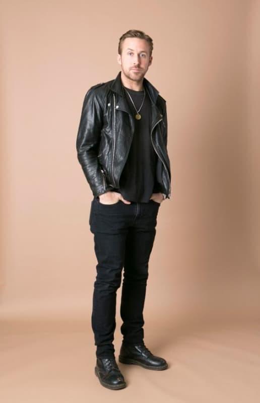 modelos de jaqueta Biker