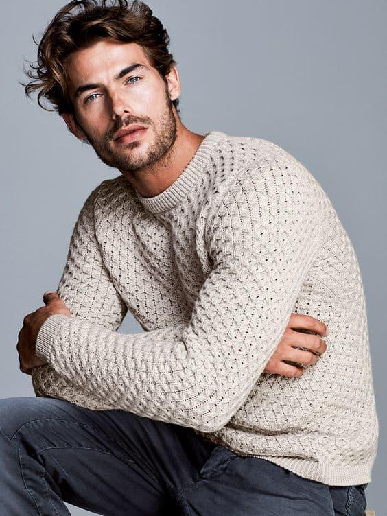 pulover branco