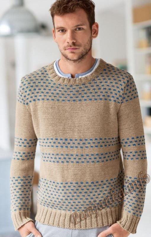 pulover colorido simples