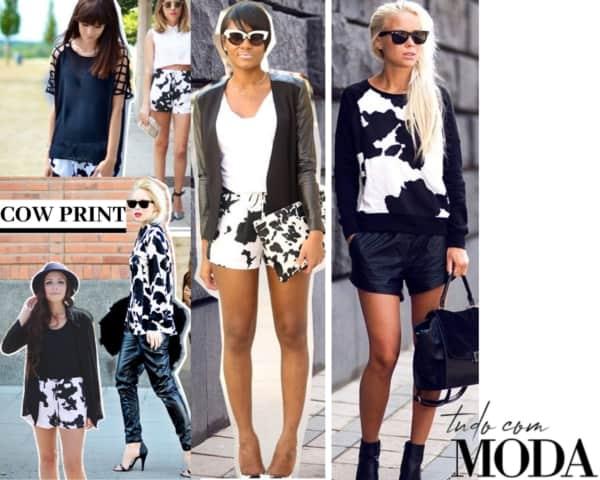 roupas da moda 2020 estampa cow print 15