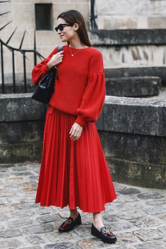 roupas da moda looks com tricô 51