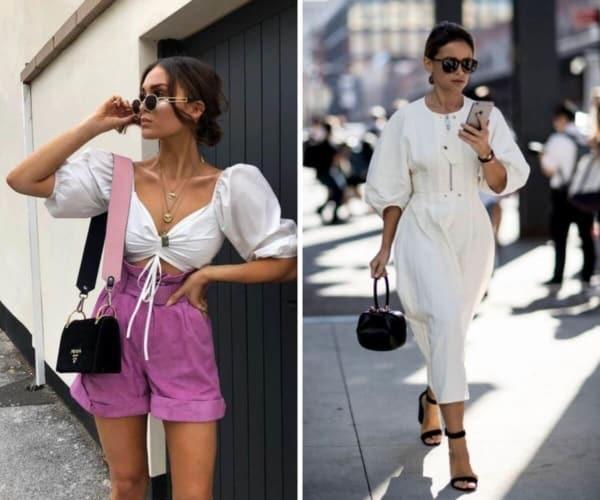 roupas da moda manga bufante 32