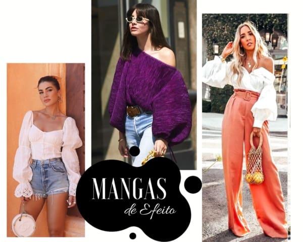 roupas da moda mangas bufantes 37