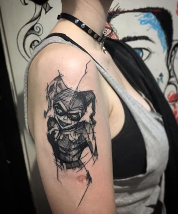 tattoo da arlequina