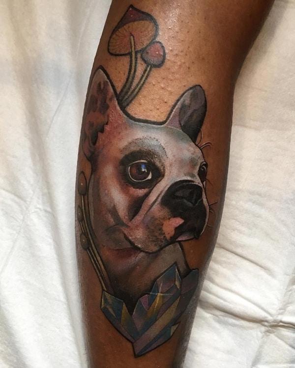 tattoo em pele negra