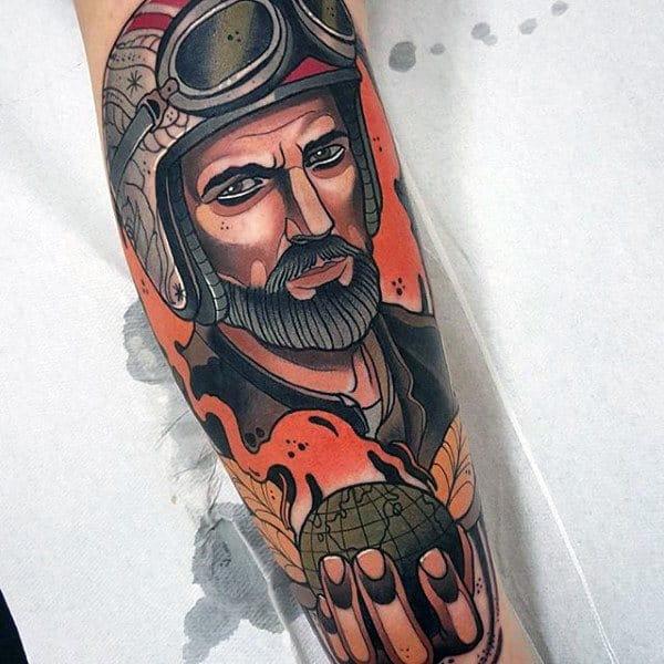 tatuagem detalhista