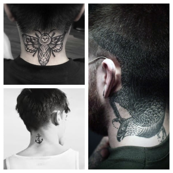 Tatuagem na Nuca Masculina: +55 Ideias e Tattoos Épicas!