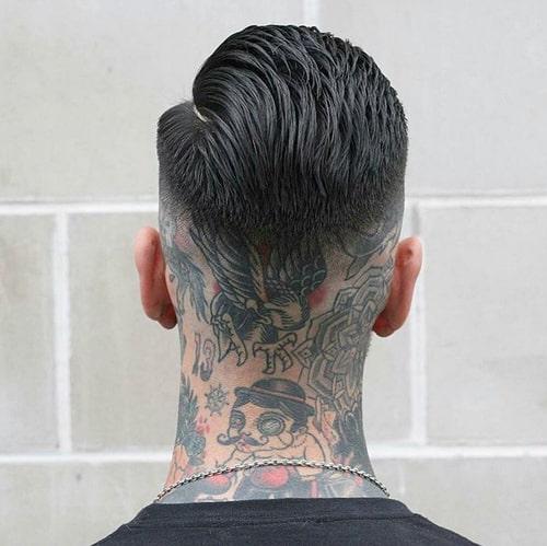 tatuagem na nuca old school
