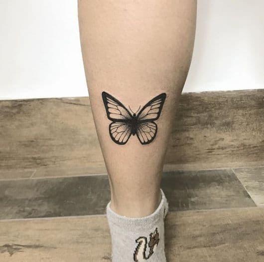 tatuagem na panturrilha 30