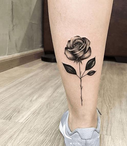 tatuagem na panturrilha 33