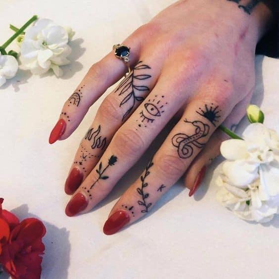 tatuagem no dedo 62