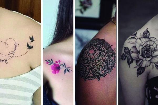 tatuagem no ombro feminina 40
