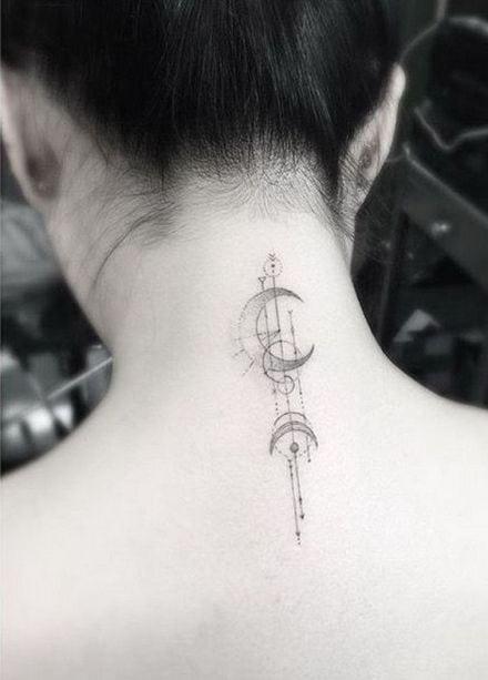 tatuagem no pescoço 58