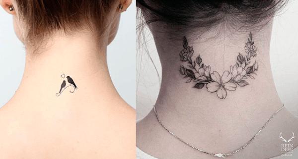 tatuagem no pescoço 59