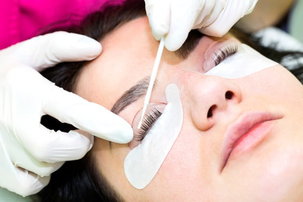 o que é lash lifting