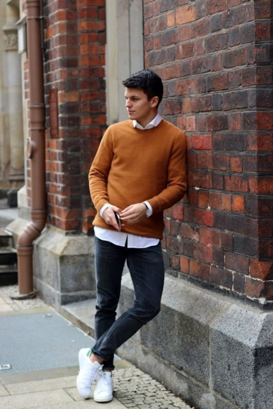 look masculino casual e moderno