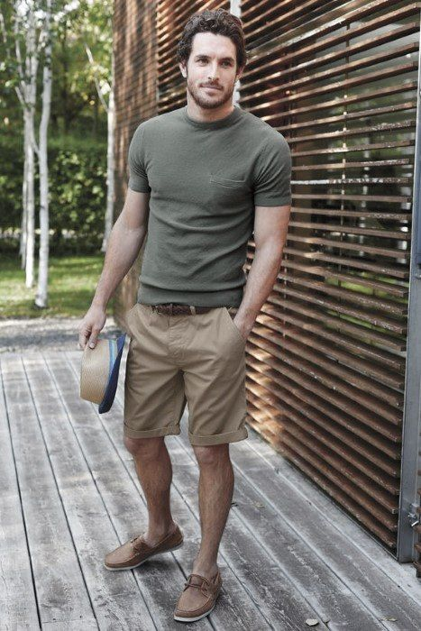 look masculino de verão