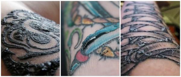quanto tempo demora cicatrização de tatuagem