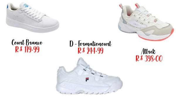 modelos e onde comprar tênis tumblr Fila