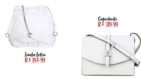 modelos e preço de bolsa branca